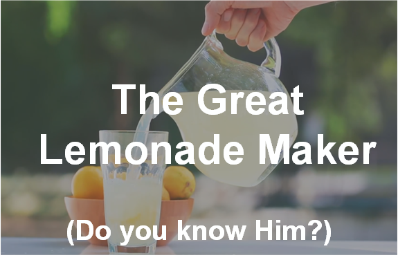 great lemonade maker ad